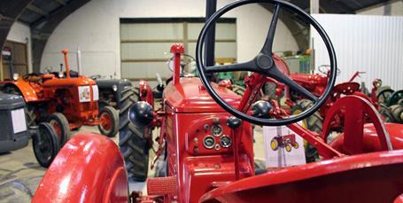 Traktor- og maskinudstillingen